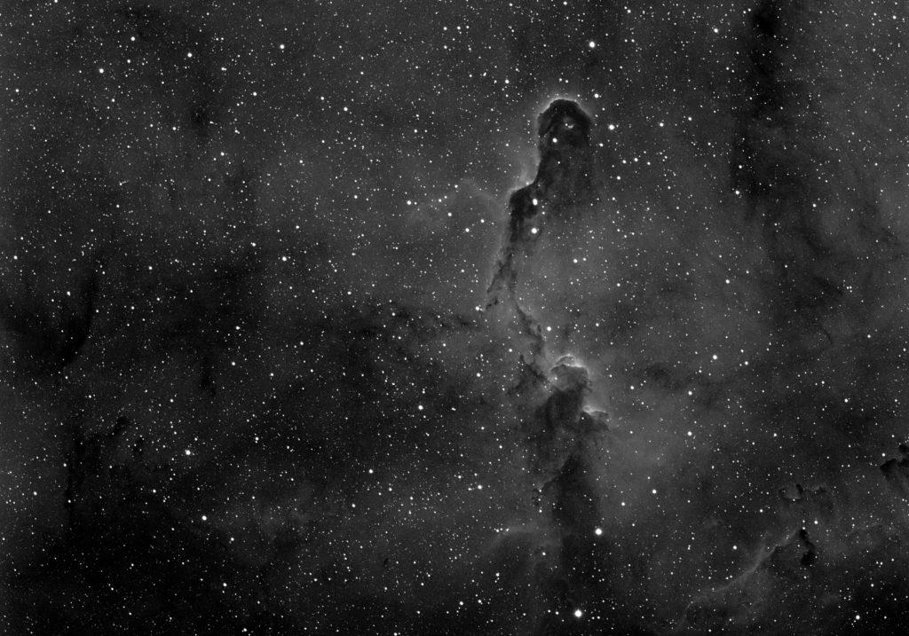 Nébuleuse de la Trompe d'éléphant IC1396 Ha